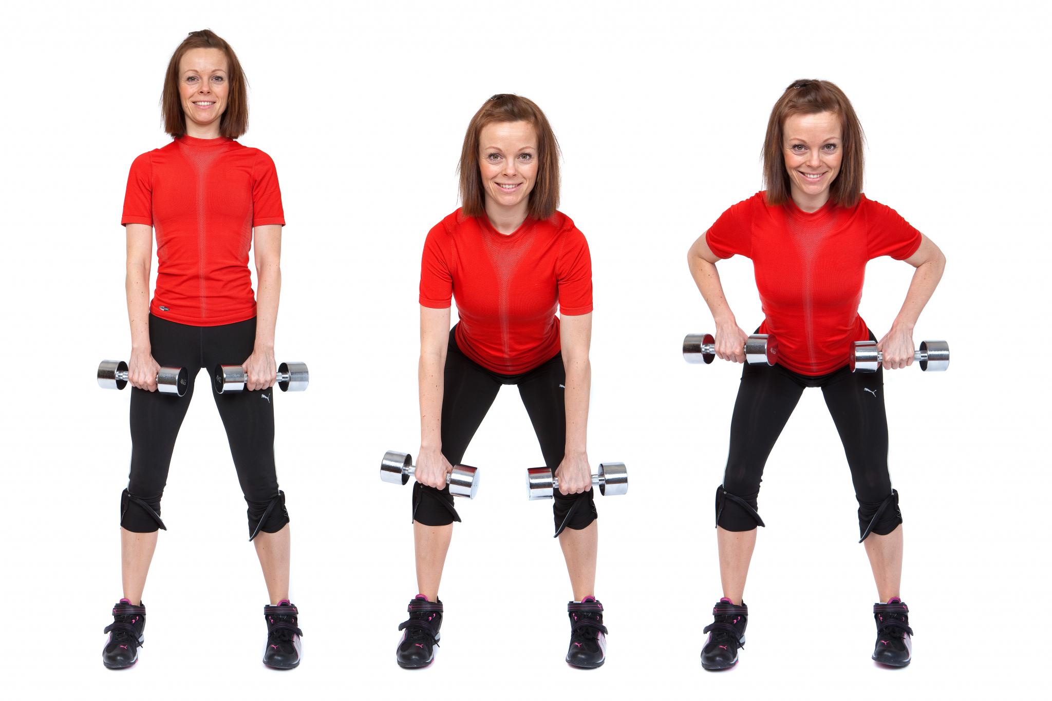 Øvelser for biceps – kostprogram til vægttab.